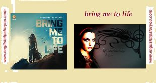 bring me to life-Evanescence