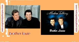 brother louie-MODERN TALKING