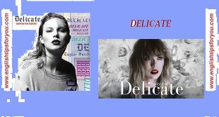 delicate-Taylor Swift