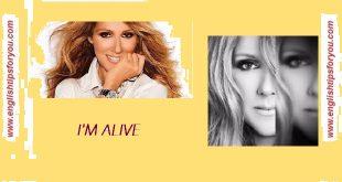 i am alive - Celine Dion
