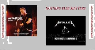 metallica-nothing else matters