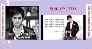 ring my bells- Enrique Iglesias