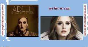 adele-set fire to rain