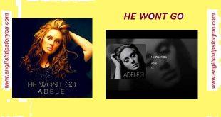 06 - He Wont Go-ADELE