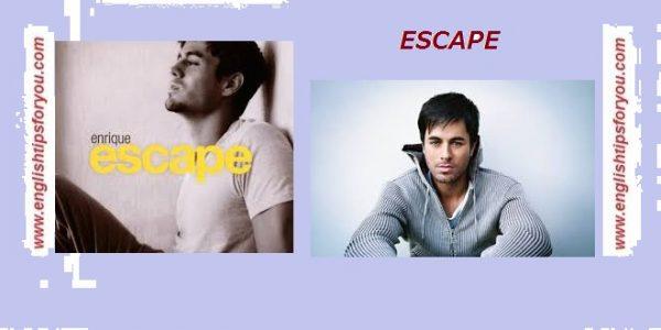 escape-Enrique Iglesias