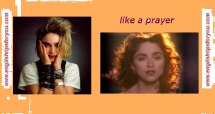 like a prayer- Madonna