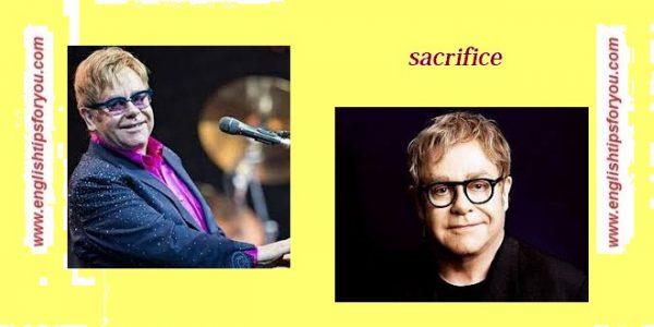 sacrifice-Elton John