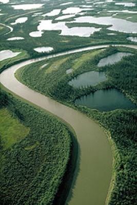 رودخانه مکنزی- قلمروی شمال غربی کانادا