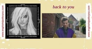 01_back to you feat. bebe rexha_Louis Tomlinson.englishtipsforyou.com