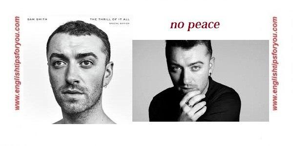 08 - No Peace .englishtipsforyou.com