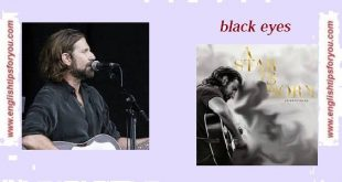 Black Eyes.englishtipsforyou.com