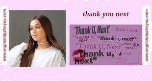 ariana_grande_thank u next_englishtipsforyou.com