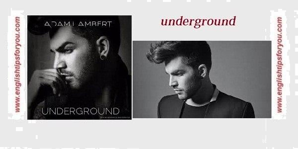 underground adam lambert.englishtipsforyou.com