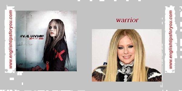12. Warrior .englishtipsforyou.com