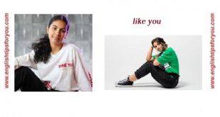 Alessia Cara - Like You.englishtipsforyou.com
