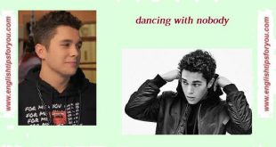 Austin Mahone - Dancing With Nobody.englishtipsforyou.com