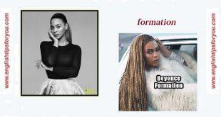 Beyonce - Formation.englishtipsforyou.com