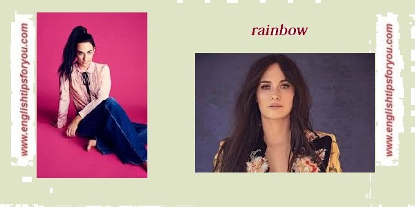 Kacey Musgraves - Rainbow.englishtipsforyou.com