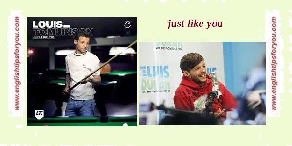 Louis Tomlinson - Just Like You .englishtipsforyou.com