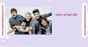 One_Direction.Story of My Life.englishtipsforyou.com