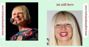 Sia - I'm Still Here .englishtipsforyou.com