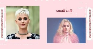Katy Perry - Small Talk .englishtipsforyou.com