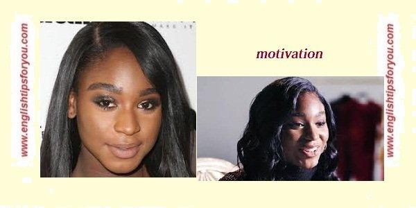 Normani - Motivation.englishtipsforyou.com
