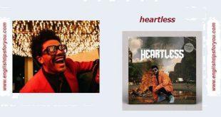 Heartless-The-Weeknd..englishtipsforyou.com