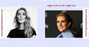 celine-dion-right next to the right one.englishtipsforyou.com