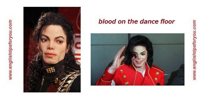 michael-jackson-blood on the dance floor