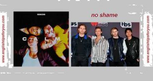 5 Seconds Of Summer - No Shame.englishtipsforyou.com