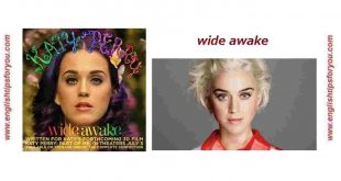 Katy Perry - Wide Awake.englishtipsforyou.com