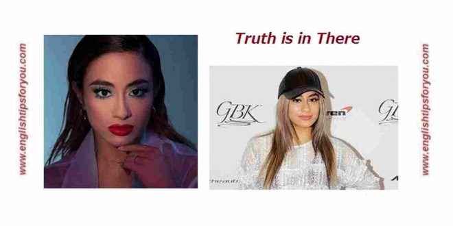 Ally Brooke _ The Truth Is In There _englishtipsforyou.com