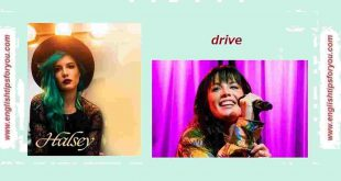 Drive - Halsey.englishtipsforyou.com