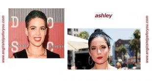 Halsey - Ashley.englishtipsforyou.com