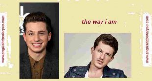 Charlie Puth Called The Way I Am-englishtipsforyou.com.